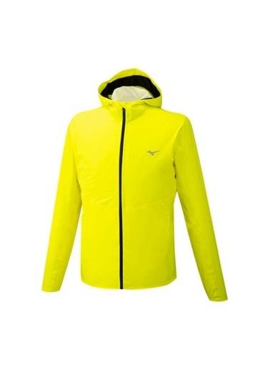 Mizuno 20K Er Jacket Erkek Yağmurluk Sarı Sarı